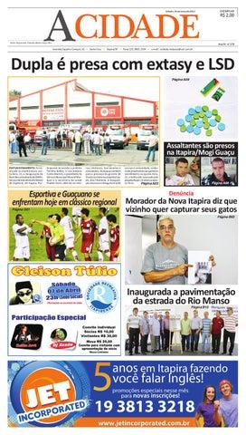 dc3033dd5c928 Jornal a Cidade by Rafael Gustavo - issuu