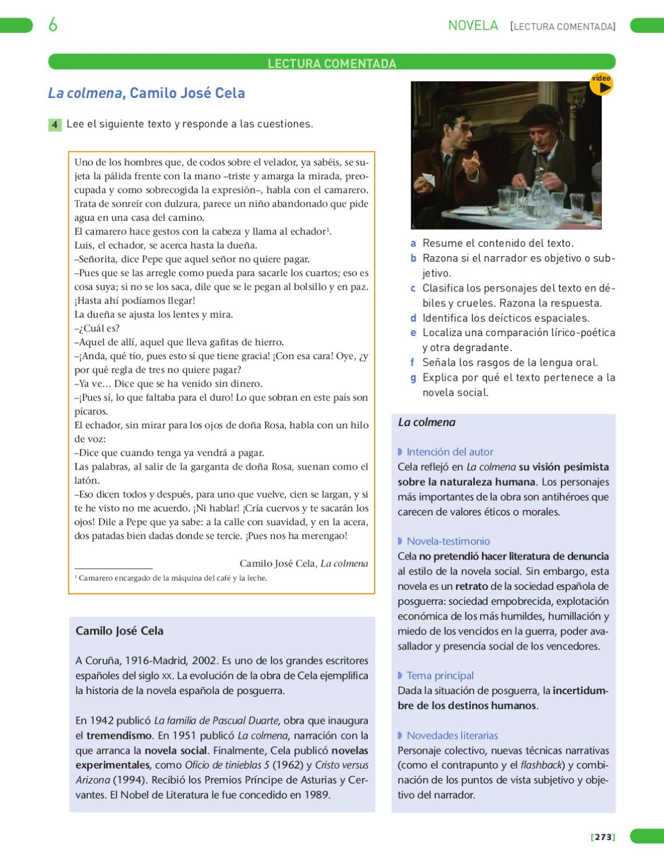 Lengua castellana y literatura 4 - Unitat de mostra (literatura) ESO ...