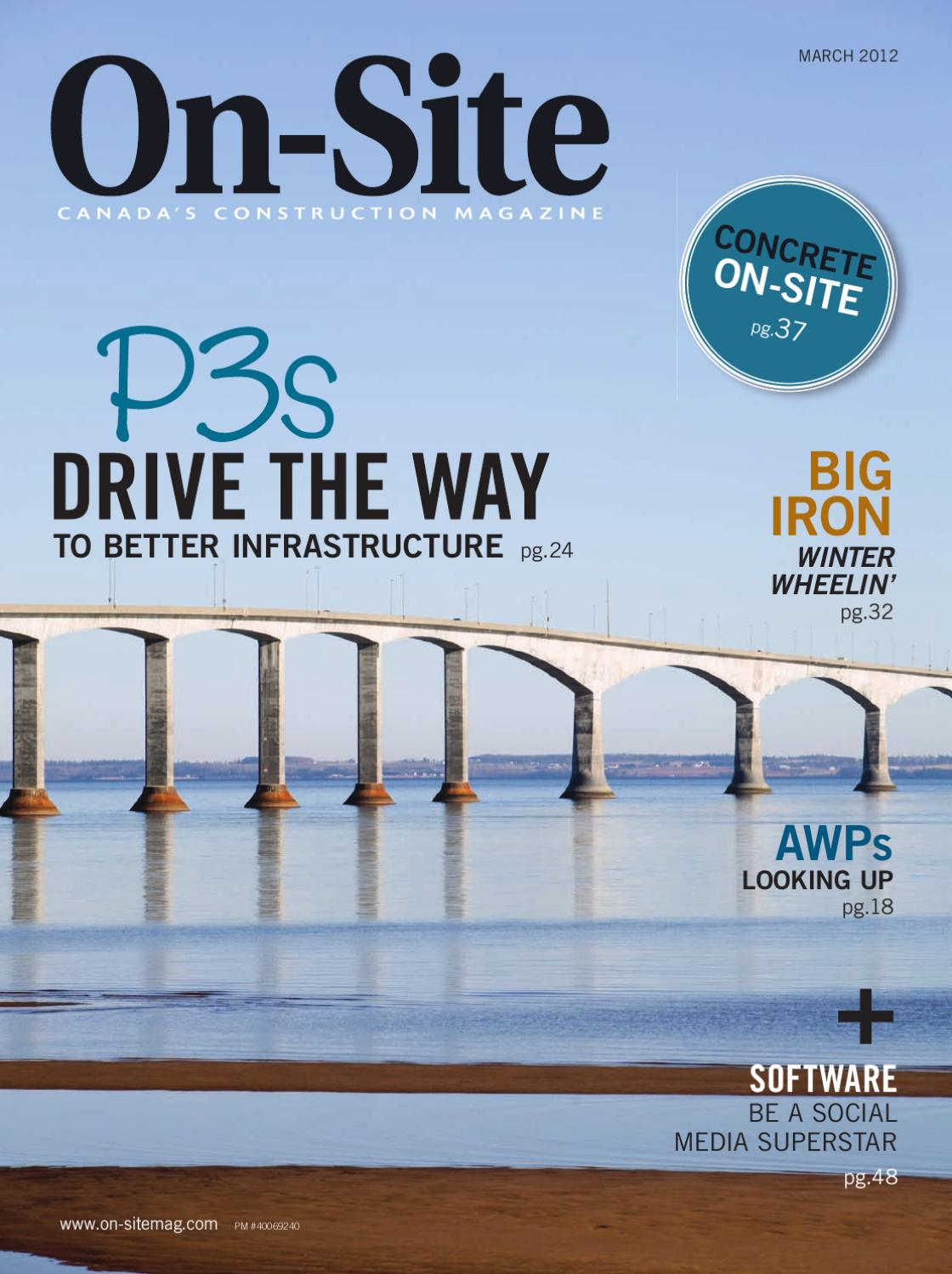 On-Site Magazine March 2012 by Annex Business Media - issuu