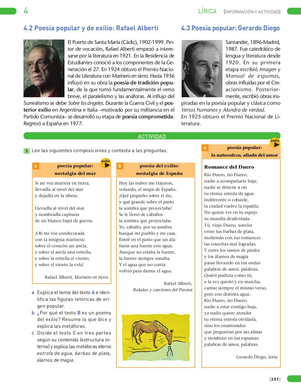 Lengua Castellana Y Literatura 4 Unidad De Muestra