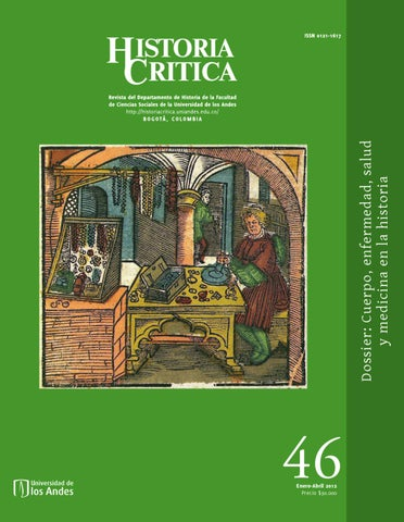 0ae7c050a Revista Historia Critica No. 46 by Universidad de los Andes - issuu