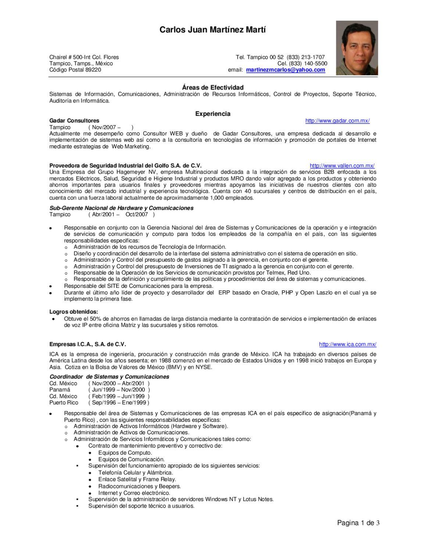 CV - Carlos Juan Martínez Martí by Carlos Martinez - issuu