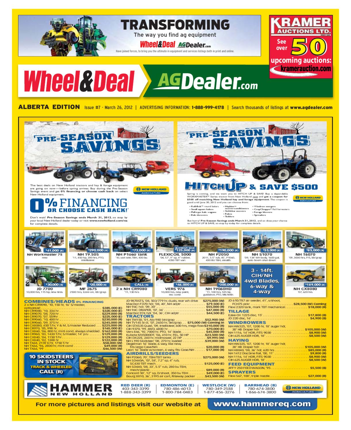 Wheel Amp Deal Alberta March 26 2012 By Farm Business 120240 Volt 3 Phase Delta High Leg Electrician Talk 2016 Car Release Communications Issuu