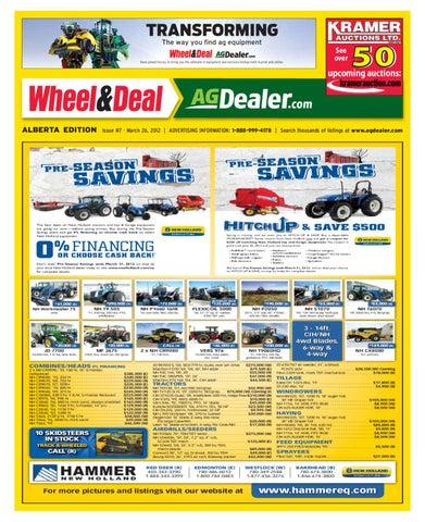 Wheel Amp Deal Alberta March 26 2012 By Farm Business
