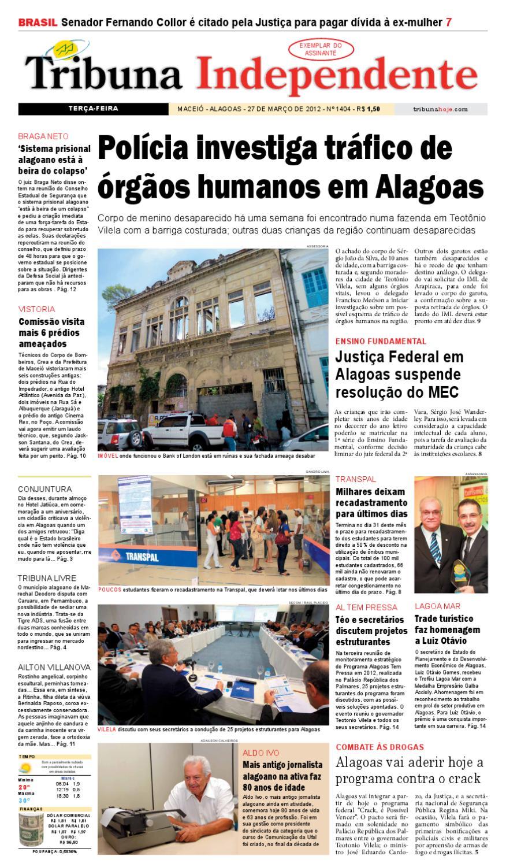 Edição número 1404 27 de março de 2012 by Tribuna Hoje - issuu 258a949b56