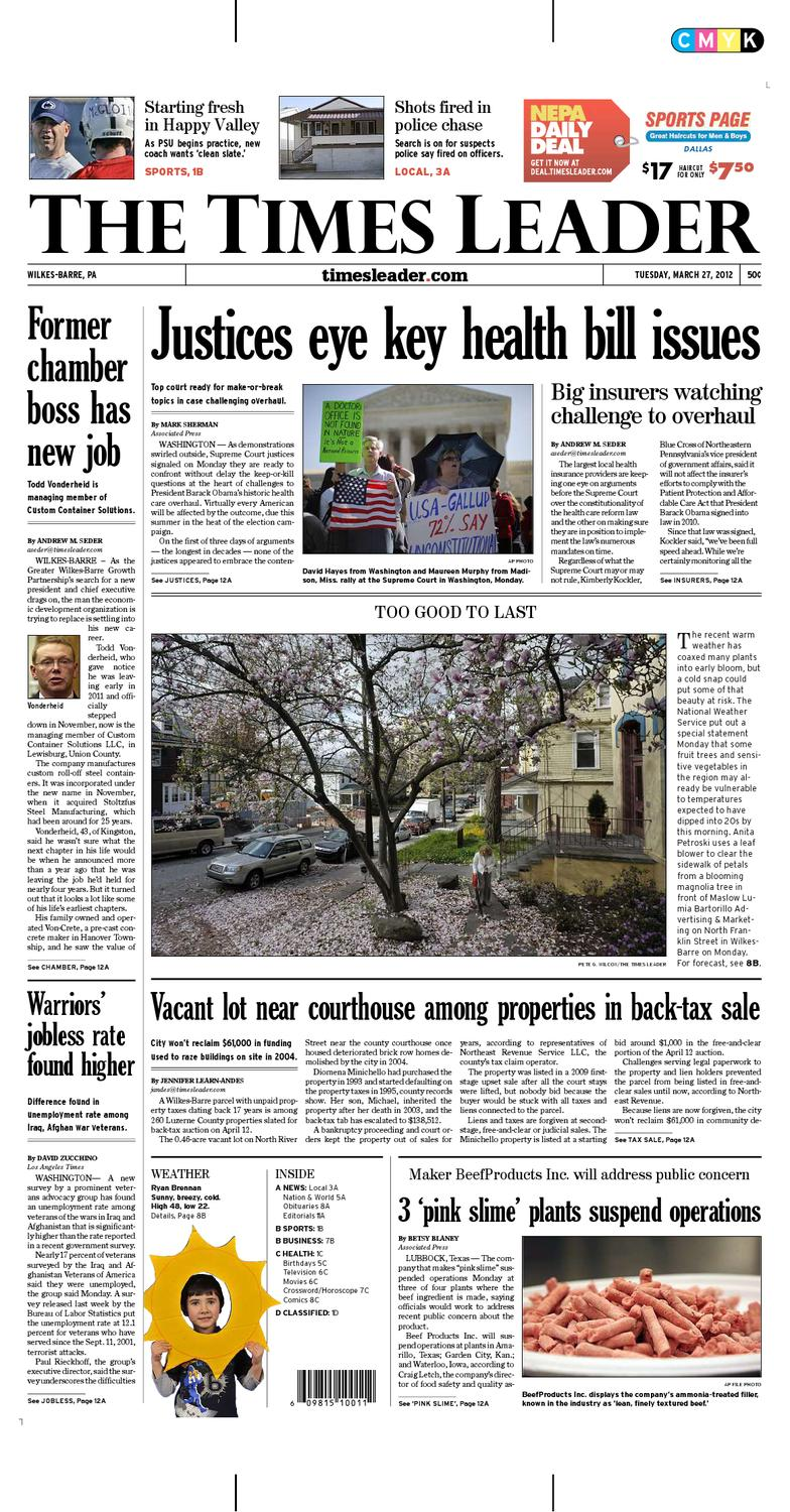 Times Leader 03-27-2012 by The Wilkes-Barre Publishing Company - issuu 22c1567ec