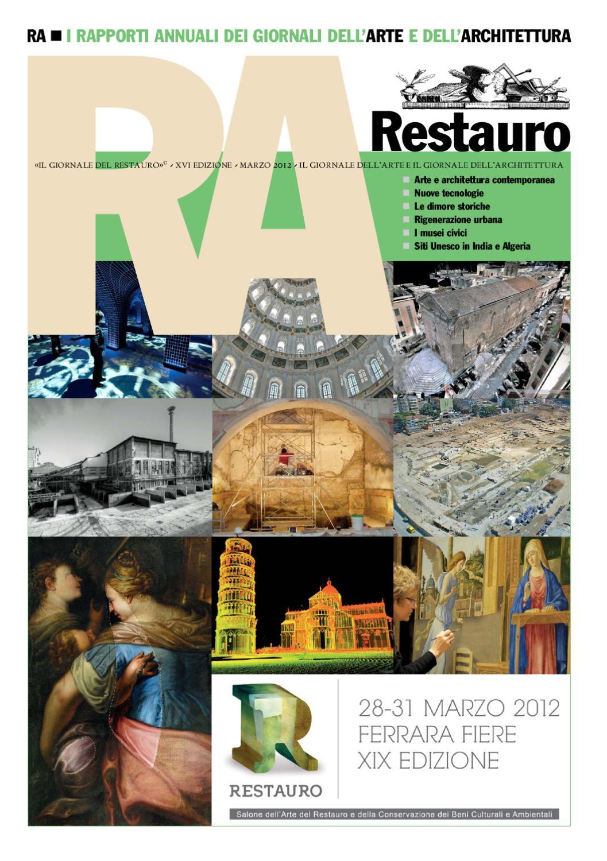 Xvi Rapporto Annuale Sul Restauro By Il Giornale Dell