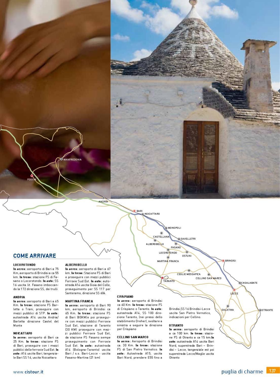 Catalogo Puglia Charme 2012 - Cis Tour by Cis Tour - issuu