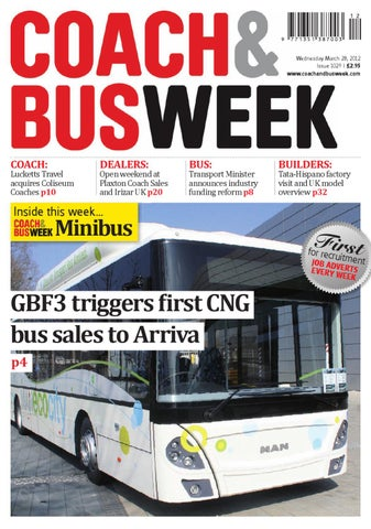 Coach & Bus Week : Issue 1029 by Coach and Bus Week & Group Travel