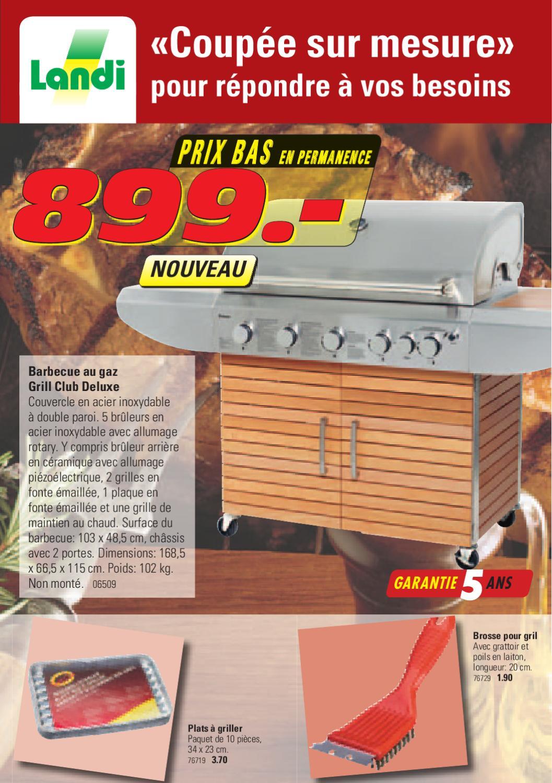 06509 gas grill pdf a5 fr by fenaco genossenschaft issuu - Grille pour barbecue sur mesure en acier inox ...