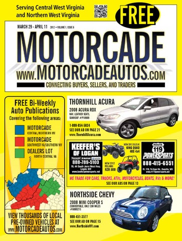 Motorcade Magazine Central & Northern West Virginia 1 06 by