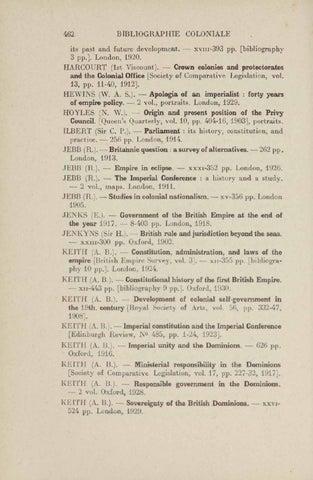 Bibliographie d'histoire coloniale ( 1900-1930 ) by
