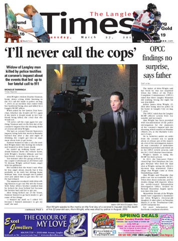 Langley Times, March 27, 2012 by Black Press Media Group - issuu