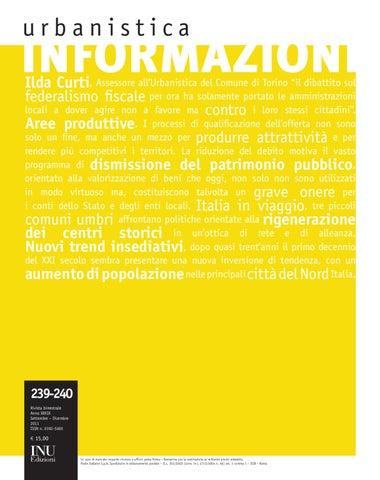 Urbanistica Informazioni  239-240 by Urbanistica Informazioni - issuu 754f7f37719d