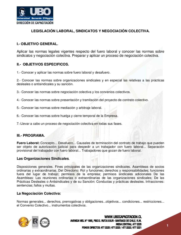 legislacion-laboral-sindicato-y-negociacion-colectiva by Erick ...