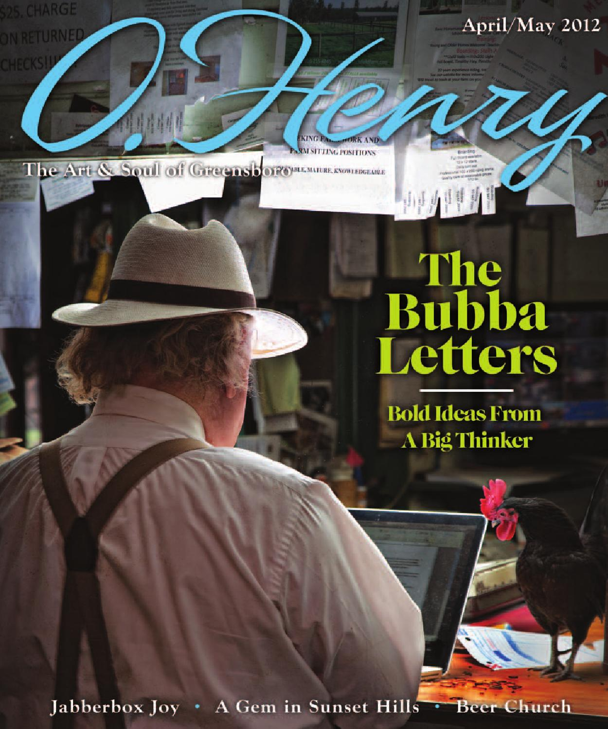d0a1c67c0f1 April May 2012 O.Henry by O.Henry magazine - issuu