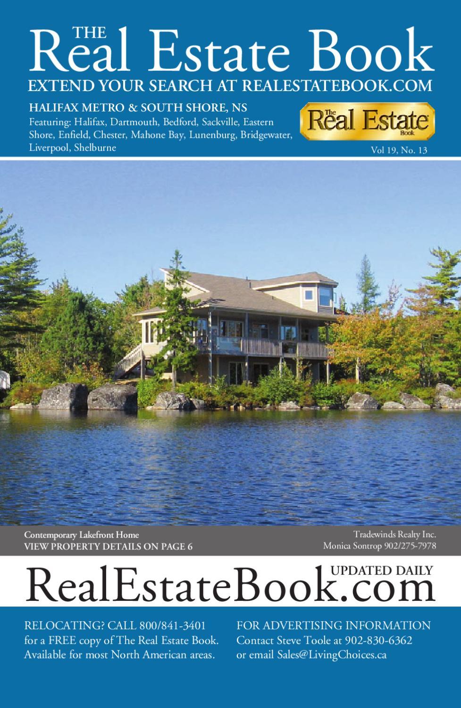 19#13 The Real Estate Book Halifax Metro South Shore Nova Scotia by