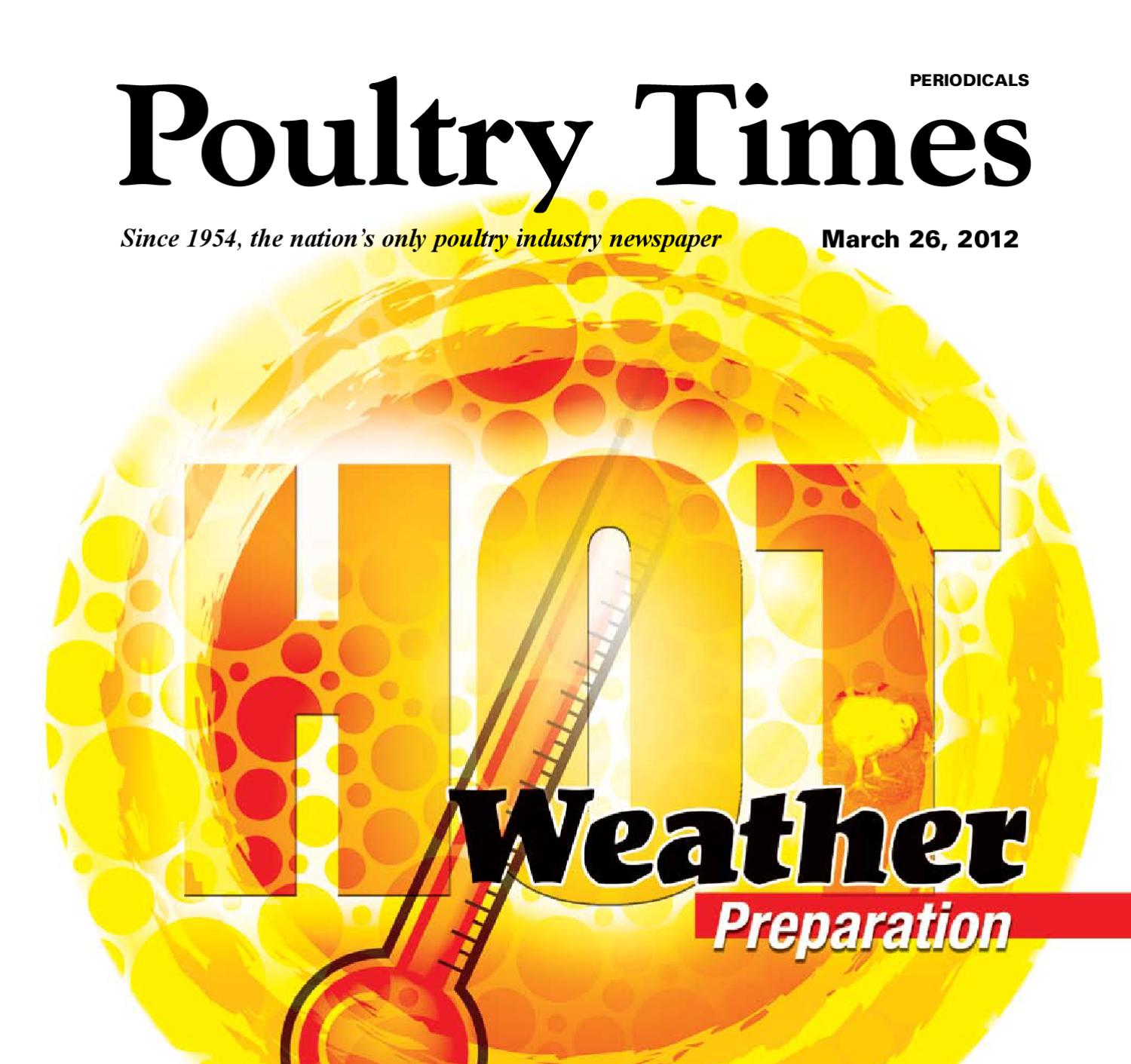 Poultry Times March 26 Edition by The Times - issuu