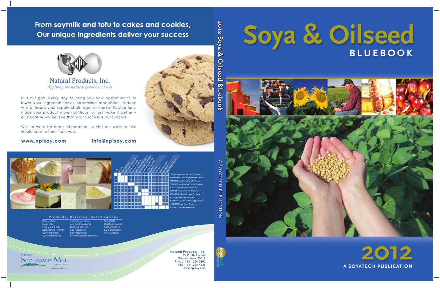 Soya oilseed bluebook by highquest partners issuu fandeluxe Images