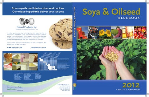 2989b44472 Soya & Oilseed Bluebook by HighQuest Partners - issuu