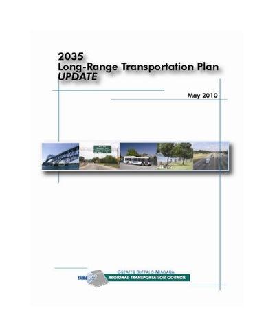 2035 Long Range Transportation Plan By GBNRTC Issuu