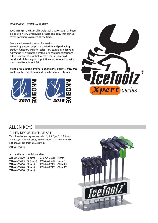 "IceToolz E211 One-way Torque Wrench Bike Tool for 3//8/"" 1//2/"" Drive Socket"