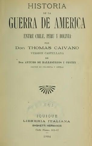 694b418a50 Historia de la Guerra de América (1) by Rodolfo Manzo - issuu
