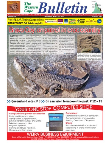 Western cape bulletin 28 march 2012 by regional and remote page 1 thecheapjerseys Gallery