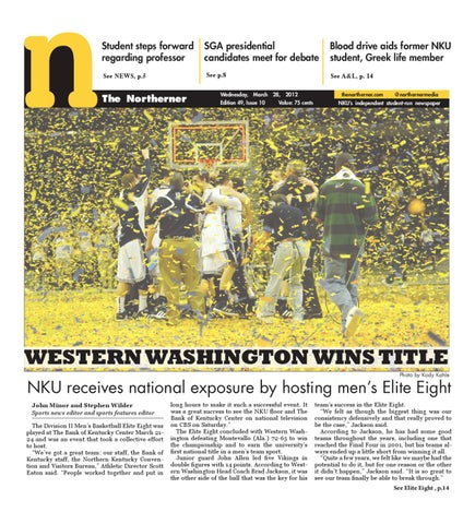 The Northerner Print Edition - March 18, 2012