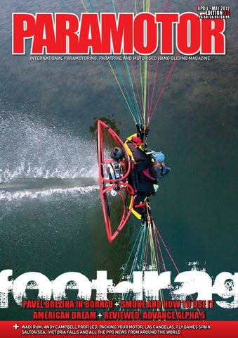 Paramotor Magazine Issue 30 Preview by Cross Country