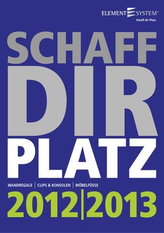Wandschienen 2-reihig 450 mm schwarz Classic 32 Elementsystem Regal 10002-00040