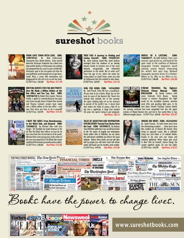 Sureshotbooks by sureshot books issuu from cape town with love isbn 1439159122 by blair underwood tananarive due steven barnes actor turned detective tennyson hardwick has solved two high fandeluxe Images