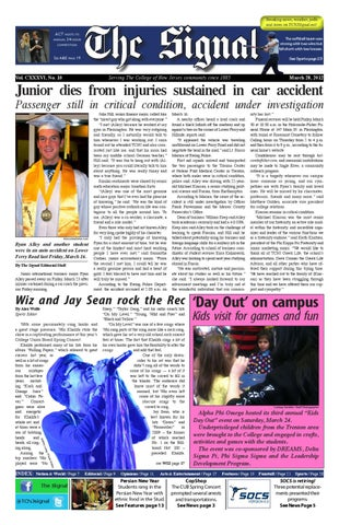 The Signal spring 12 No 10 by TCNJ Signal issuu