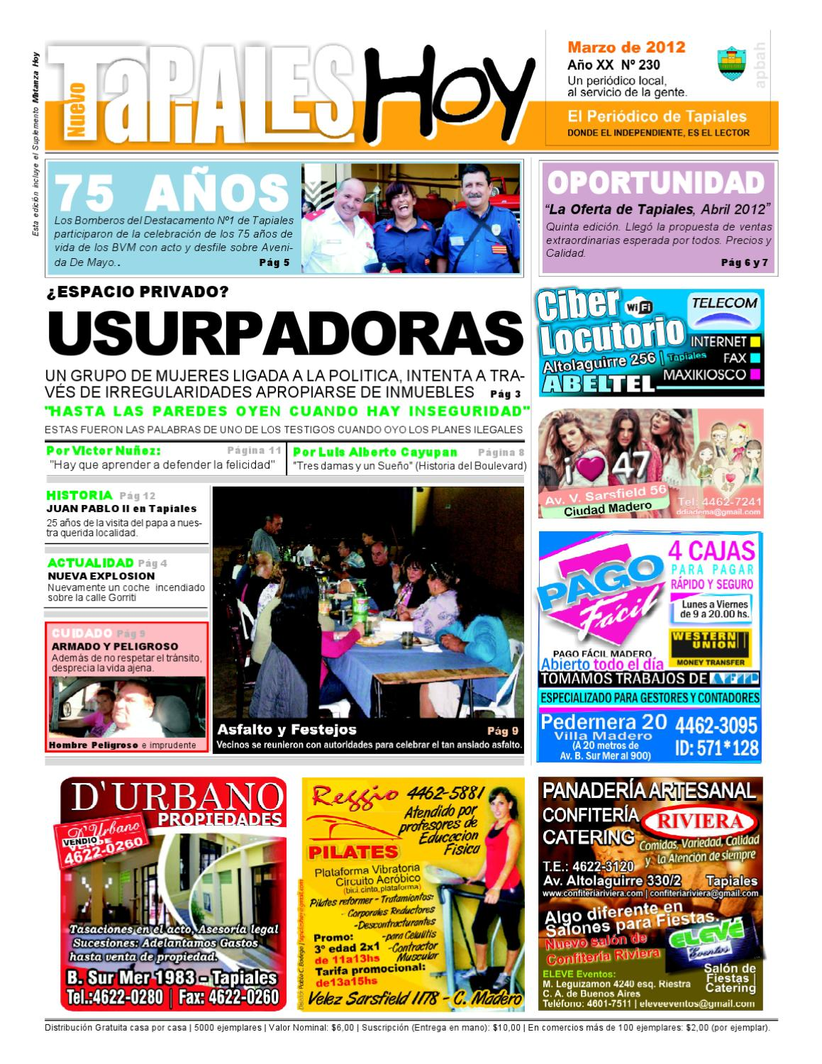 NTH #230 Marzo 2012 by Tapiales Hoy - issuu