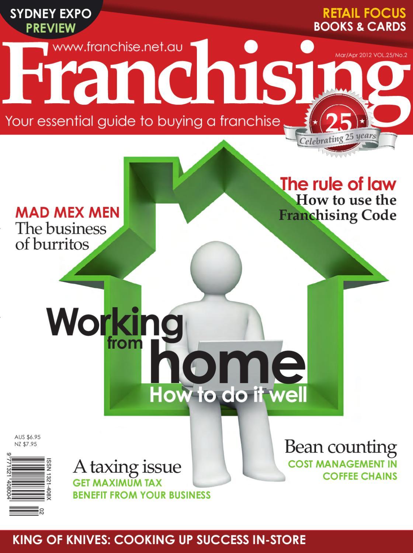 FRANCHISING - MAR/APR 2012 by Cirrus Media - issuu