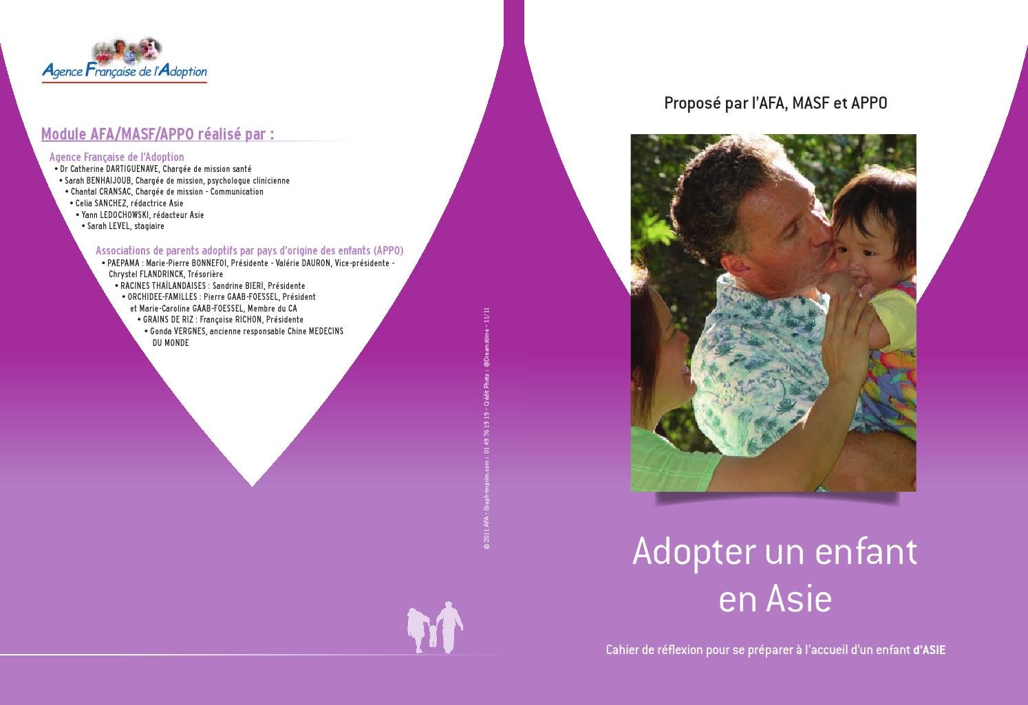 Cahier asie by agence fran aise adoption afa issuu for Agence francaise du paysage velizy