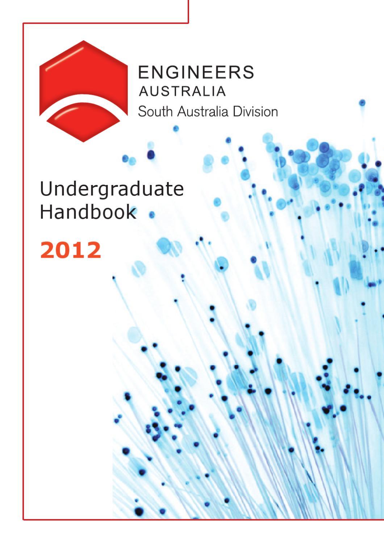 south australia division undergraduate handbook  engineers australia issuu
