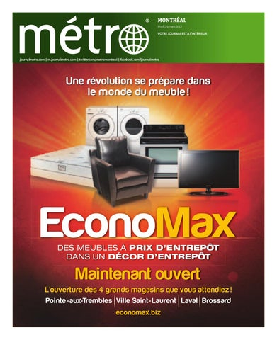 Carte Accord D Economax.20120329 Ca Montreal By Metro Canada Issuu