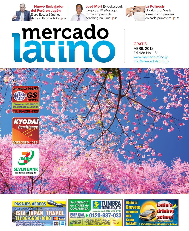 Abril 2012 by Mercado Latino Co. Ltd. - issuu