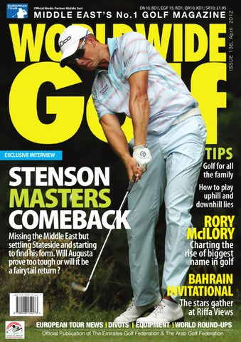 new product 812de f831f Worldwide Golf Middle East Issue 136 Masters Edition by WSP Global ...
