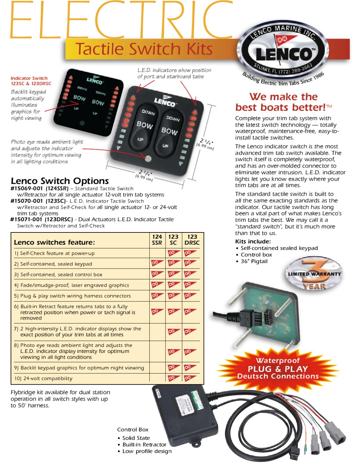 Switches Specs By Marinedirect