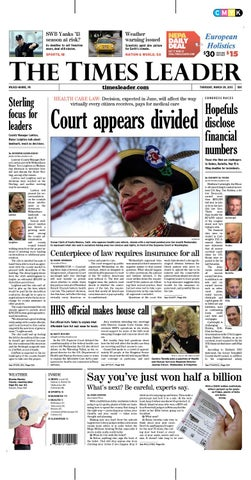 Times Leader 03 29 2012 By The Wilkes Barre Publishing Company Issuu