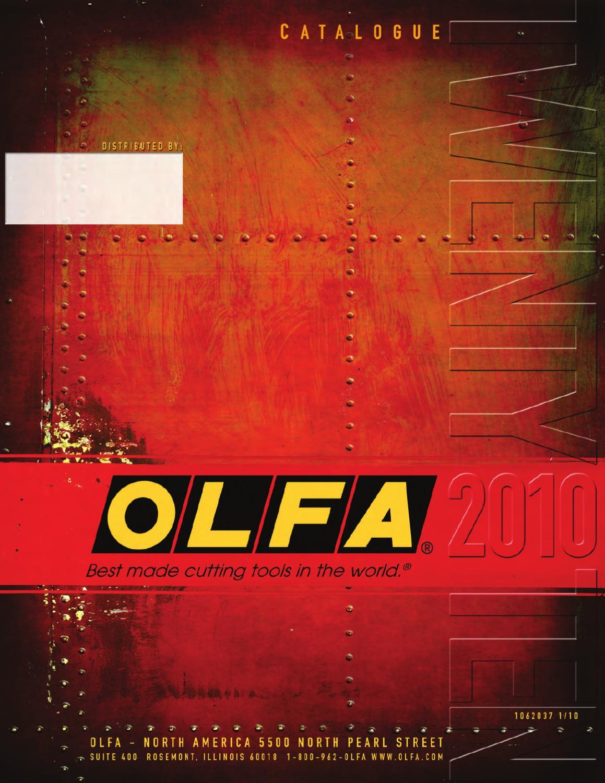 OLFA Rotatif Cercle Cutter CMP-3 pour couper tissu cercles de 4 cm à 22 cm