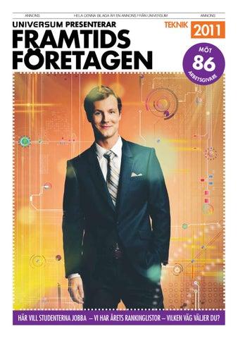Framtidsföretagen Teknik 2011 by Universum - issuu 4b7e29f0e0037