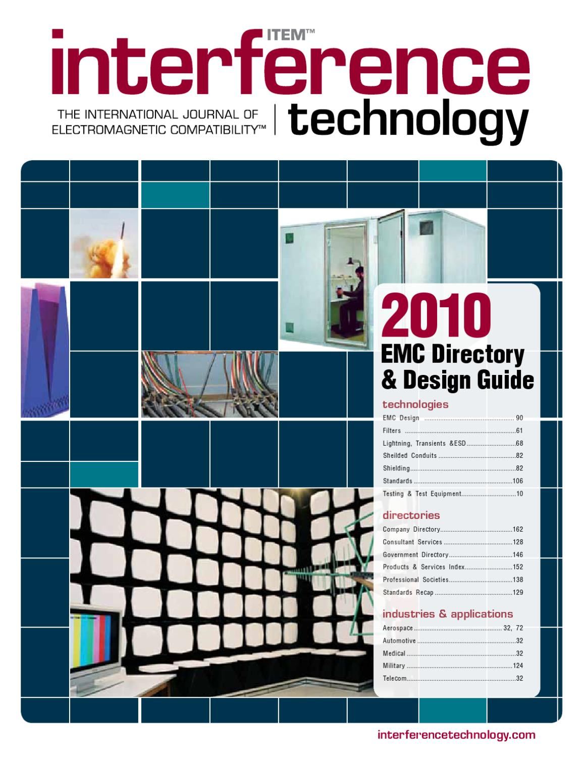 2010 Emc Directory Design Guide By Item Media Issuu Sound Bell Circuit With Ic 8021 Electronic Projects Circuits