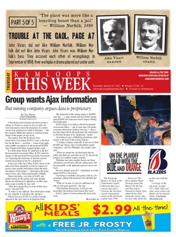 Kamloops This Week, March 29, 2012 by Black Press Media