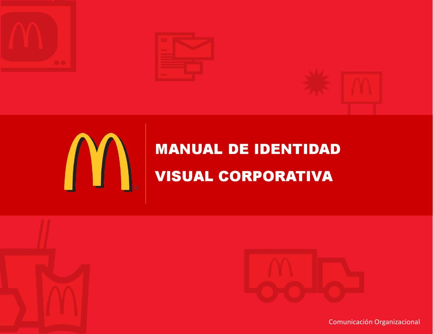 manual de identidad mcdonalds by kevin guardado issuu rh issuu com mcdonalds o&t manual mcdonalds o t manual download