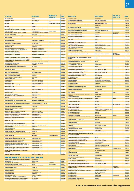 rencontres informelles by jobs  u0026 careers cv