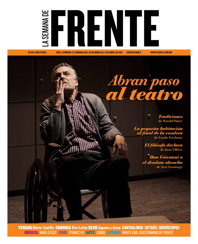 Frente N. 47 by La semana de Frente - issuu 1e81e5618dec2