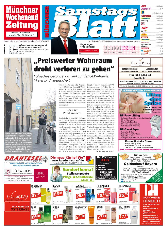99c2122e7549d8 KW 13-2012 by Wochenanzeiger Medien GmbH - issuu